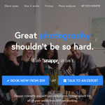 Zillionize invests in Snappr – Affordable On-Demand Professional Photographer Booking Service