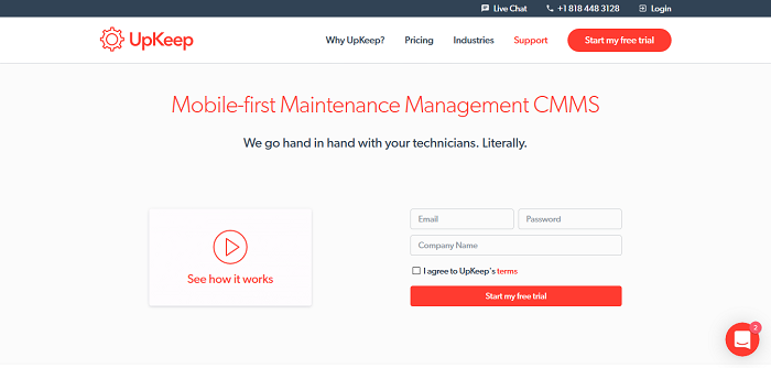 UpKeep - Mobile-first Maintenance Management CMMS