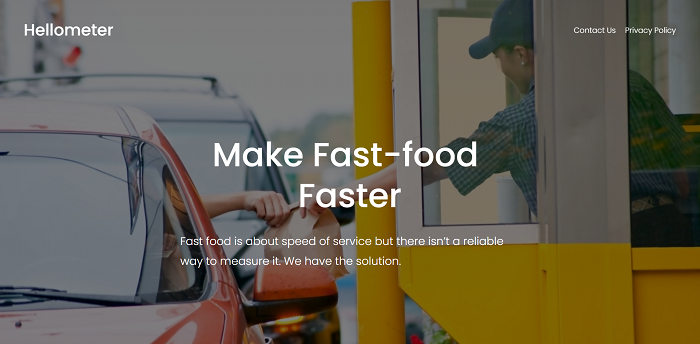Hellometer - AI-Based Insights to Improve Service Speed of Fast Food Restaurants